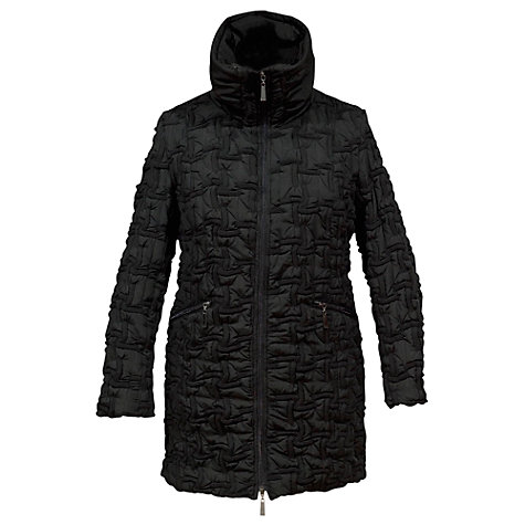 Buy Chesca Bonfire Hooded Jacket, Black Online at johnlewis.com