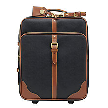 Buy Mulberry Scotchgrain 2-Wheel Cabin Suitcase Online at johnlewis.com
