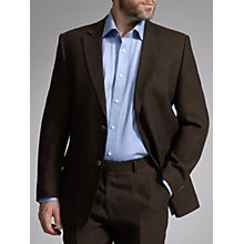 Buy John Lewis Classic Linen Suit, Chocolate Online at johnlewis.com