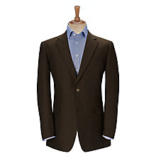 Buy John Lewis Classic Linen Suit Jacket, Chocolate Online at johnlewis.com