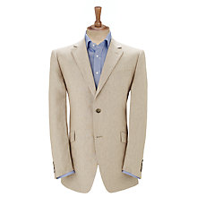 Buy John Lewis Classic Linen Suit Jacket, Stone Online at johnlewis.com