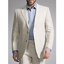 Buy John Lewis Organic Linen Suit, Natural Online at johnlewis.com