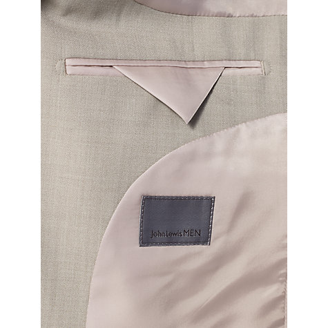 Buy John Lewis Washable Suit Trousers, Natural Online at johnlewis.com