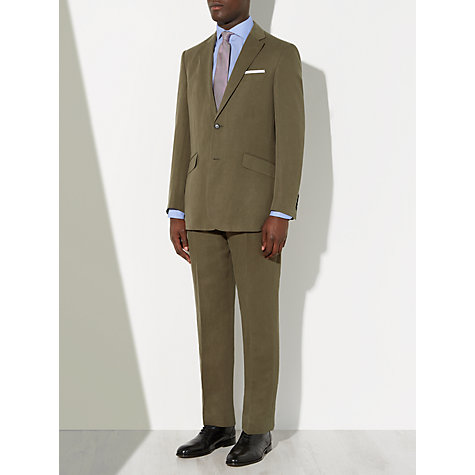 Buy John Lewis Silk and Linen Suit Jacket, Mink Online at johnlewis.com