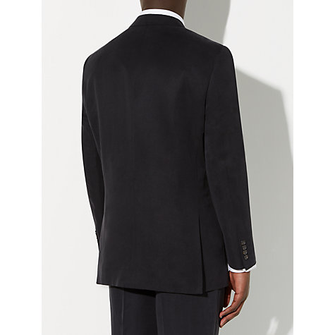 Buy John Lewis Silk and Linen Suit Jacket, Navy Online at johnlewis.com