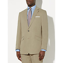 John Lewis Silk and Linen Suit, Stone