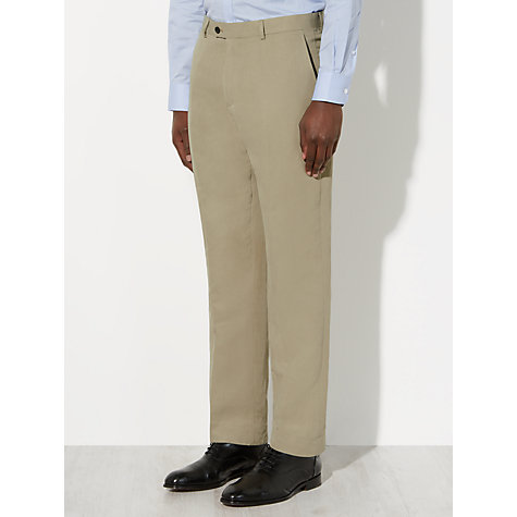 Buy John Lewis Silk and Linen Suit Trousers, Stone Online at johnlewis.com