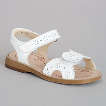 Buy Start-rite Brooke Sandals, White Online at johnlewis.com