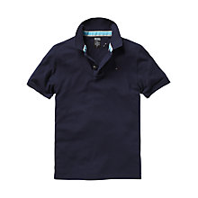Buy Hilfiger Denim Pilot Flag Polo Shirt, Navy Online at johnlewis.com