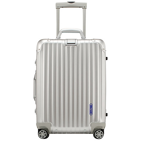 Buy Rimowa Topas Spinner Suitcase, Silver Online at johnlewis.com