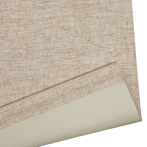 Buy John Lewis Textured Blackout Roller Blinds, Natural Online at johnlewis.com