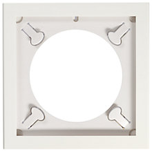 Buy Art Vinyl Play & Display Frame, White Online at johnlewis.com