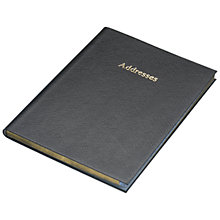 Buy Leathersmith Of London Chelsea Leather Address Book Online at johnlewis.com