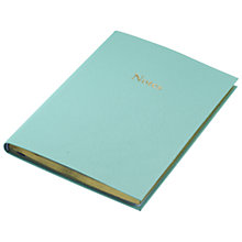 Buy Leathersmith Of London Chelsea Leather Notebook Online at johnlewis.com