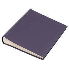 "Buy John Lewis Slip-In Album Slip Photo Album, Slate, 5 x 7"" (18 x 13cm) Online at johnlewis.com"