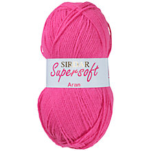 Buy Sirdar Supersoft Aran Knitting Yarn Online at johnlewis.com