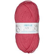 Buy Sirdar Snuggly Dk Knitting Yarn, 50g, Lolly Pink 420 Online at johnlewis.com