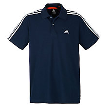 Buy Adidas Essentials 3S Polo Shirt Online at johnlewis.com