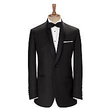 Buy John Lewis Shawl Wool Regular Fit Dress Suit Jacket, Black Online at johnlewis.com