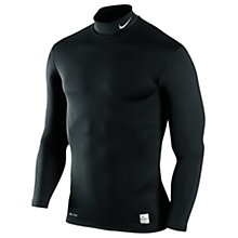 Buy Nike Hyperwarm Compression Long Sleeve T-Shirt, Black Online at johnlewis.com