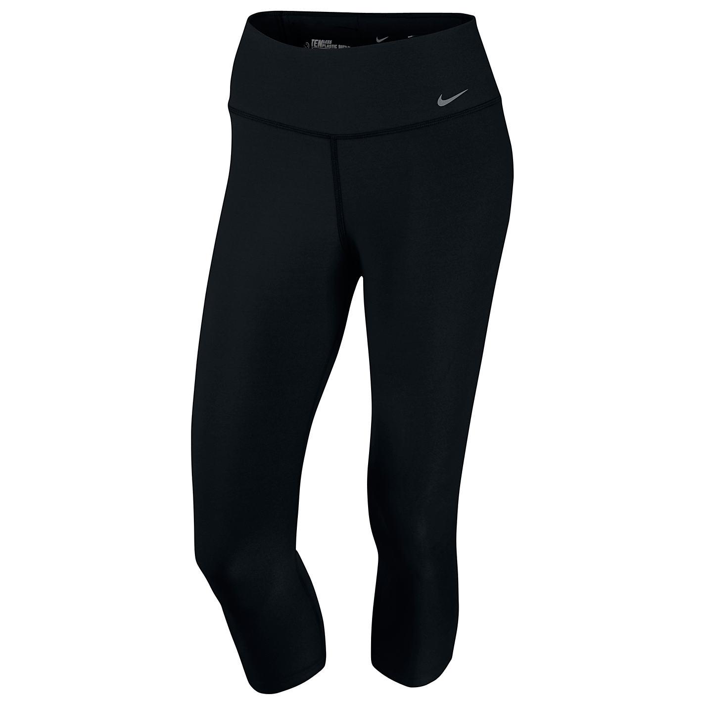 Buy Nike Legend Training Capri Pants, Black | John Lewis
