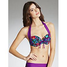 Bnwt Fantasie Corsica Blue Jewel Bikini Bra Set 36f & Xlarge 14 16 Swimwear ...