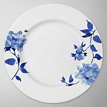 Buy John Lewis Blue Rose Plates Online at johnlewis.com