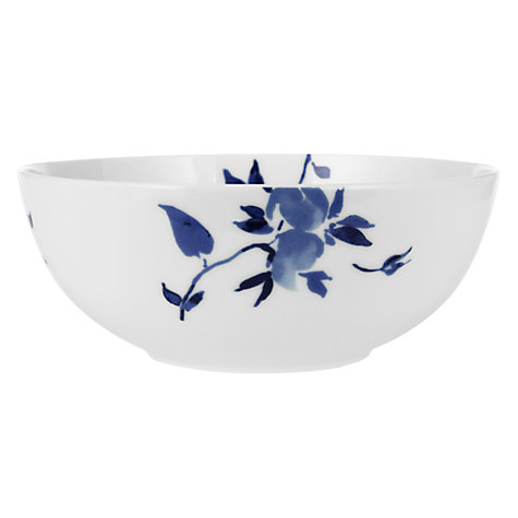 Buy John Lewis Blue Rose Serving Bowls Online at johnlewis.com