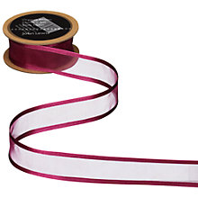 Buy John Lewis Satin Edge Organza Ribbon Online at johnlewis.com