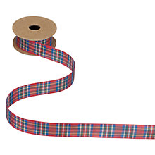 Buy John Lewis Tartan Ribbon, 5m Online at johnlewis.com