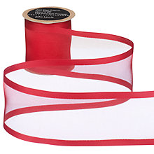 Buy John Lewis Wire Edge Woven Sheer Organza Ribbon Online at johnlewis.com