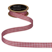 Buy John Lewis Gingham Ribbon Online at johnlewis.com