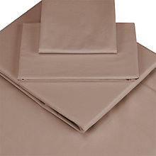 Buy John Lewis Cotton Rich Fitted Sheets Online at johnlewis.com