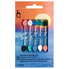 Buy Pony Knitters Marker Pins, Pack of 10 Online at johnlewis.com