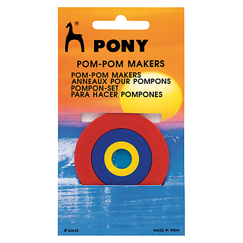 Buy Pony Pom-Pom Makers Online at johnlewis.com