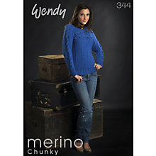 Buy Ramsden Wendy 344 Merino Chunky Pattern Book Online at johnlewis.com