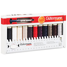 Buy Gutermann Creative Sew All Thread, Pack of 11 Reels, Assorted Online at johnlewis.com