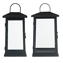 Buy John Lewis Iron Lanterns, Black Online at johnlewis.com