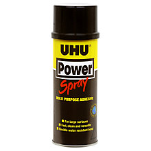 Buy UHU Power Spray Multipurpose Adhesive, 200ml Online at johnlewis.com