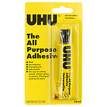 Buy UHU Clear Glue Online at johnlewis.com
