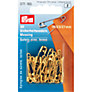 Prym Brass Safety Pins, Assorted Sizes, Pack of 30, Gold
