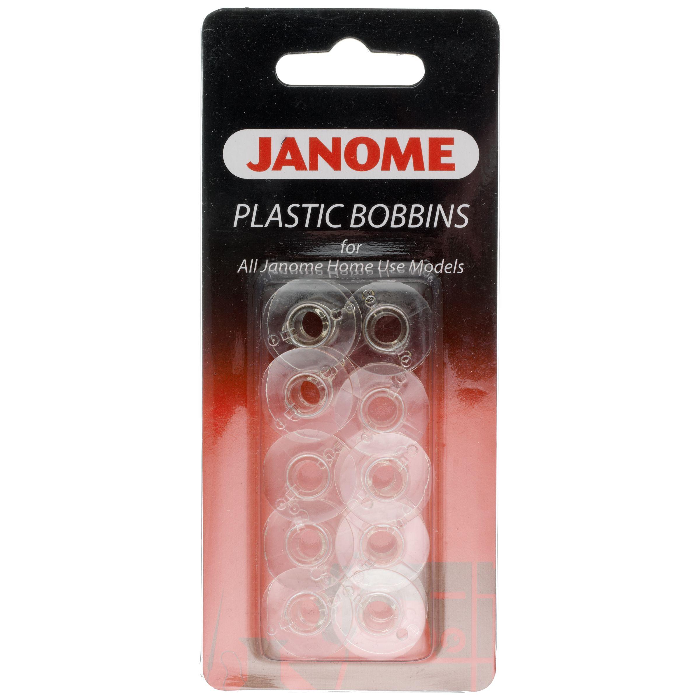 Janome Janome Plastic Bobbins, Pack of 10