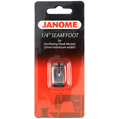 Janome Sewing Machine Quarter Inch Seam Foot