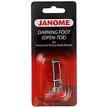 Buy Janome Open Toe Embroidery Darning Foot Online at johnlewis.com