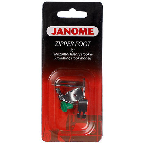 Buy Janome Zipper Foot Online at johnlewis.com