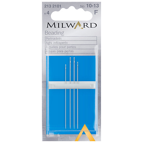 Buy Milward Beading Needles, Pack of 4 Online at johnlewis.com
