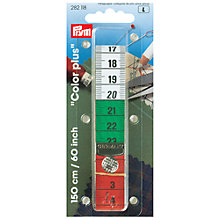 Buy Prym Colour Plus Press Stud Tape Measure, 150cm Online at johnlewis.com