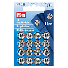 Buy Prym Sew-On Metal Snap Fasteners Online at johnlewis.com