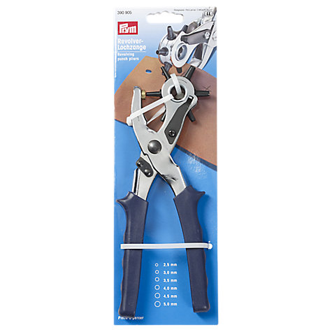 Buy Prym Revolving Leather Punch Pliers, 6 Hole Sizes Online at johnlewis.com