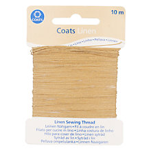 Buy Coats Linen Thread, 10m Online at johnlewis.com